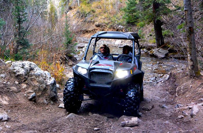 Polaris RZR Rentals Breckenridge Colorado