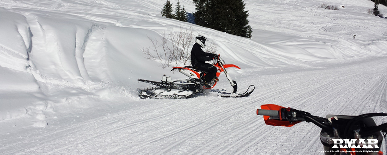 Electric Mountain Bike >> Vail Pass Colorado Timbersled, Snowmobile and Backcountry ...