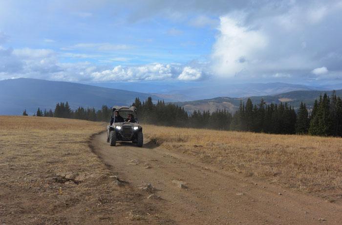 Polaris RZR Rentals Vail Pass