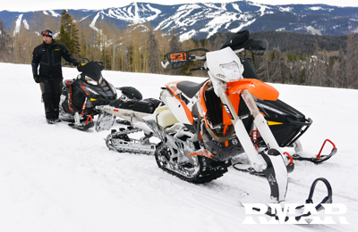 snowmobile rentals piney lake