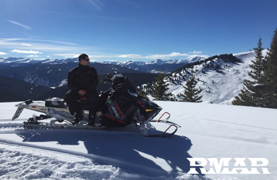 snowmobile rentals vail colorado