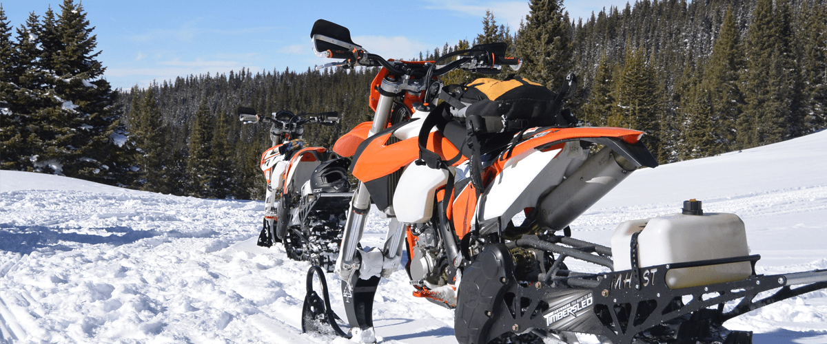 Best option for a snowbike